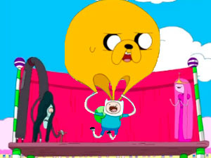 Adventure Time Jake & Finn`s Candy Dive