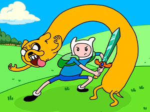 Adventure Time Magic Sword