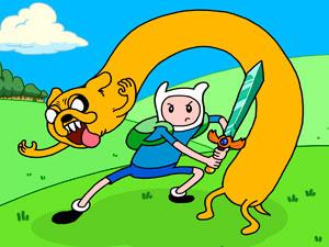 Adventure Time Magic Sword