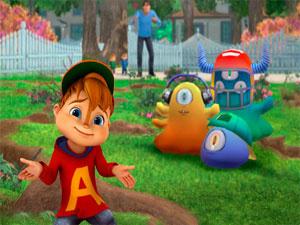 Alvin: Gegen Die Schleimmonster
