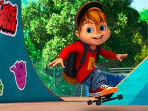 Alvinnn Und Die Chipmunks: Skateboard-Profi