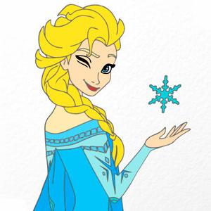 Раскраска Удивительные Принцессы