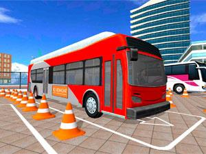 Автобусная Парковка 3D