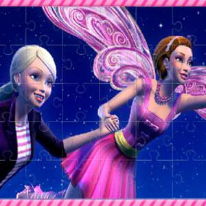 Тайные Пазлы С Барби И Феями