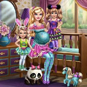 Барби С Близнецами