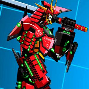Боевой Робот Самурайской Эпохи