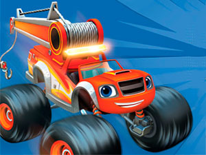 Blaze And The Monster Machines Mighty Tractor