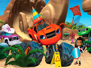 Blaze And The Monster Machines Super Search