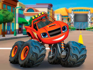 BLAZE AND THE MONSTER MACHINES: WORD LINKS