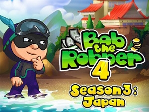 Bob 4 The Robber Seas on Japan