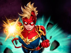Captain Marvel Gagalactic Flight