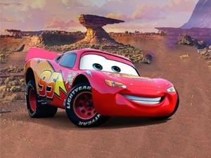 Cars. Lightning McQueen: Training Run