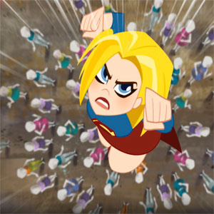 DC Девчонки-Супергерои: Лётная Школа