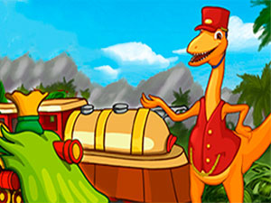 Dinosaur Train Station Race