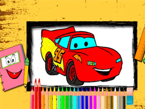 Disney Cars Coloring Book