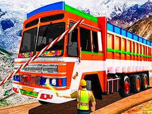 Driver Indian Truck 3D