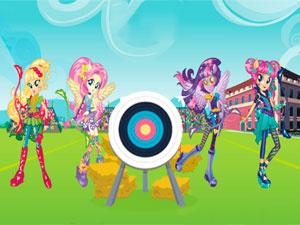 Equestria Girls: Archery game