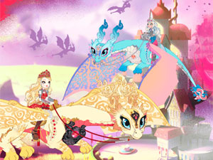 Ever After High Dragon Racing