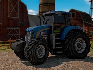 Вождение Сельскохозяйственного Трактора 3D Парковка