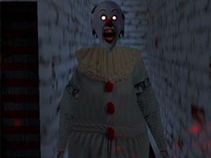 Granny Scary Clown