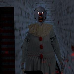 Бабушка Страшный Клоун