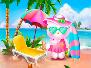 Hello Kitty Beach Fun