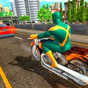 Симулятор Человека Паука На Мотоцикле 3Д 2