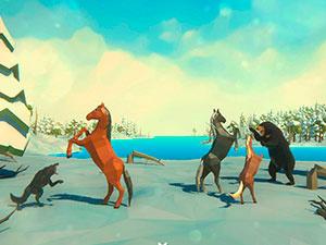 Horses Simulator Winter