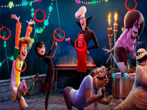 Hotel Transylvania: Find Letters