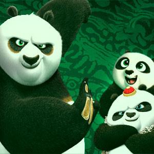 Кунг-Фу Панда 3 Тренировочное Соревнование Панды
