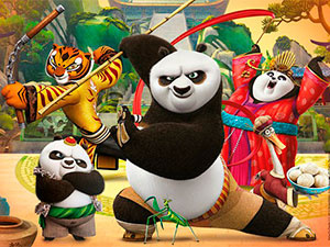 Kung Fu Panda 3 Po And Adventure With Jumps