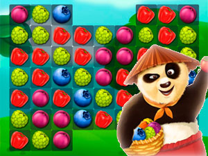 Kung Fu Panda Fruit Land
