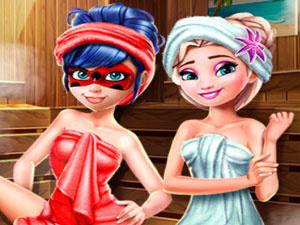 Ladybug Sauna Reallife
