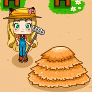 Лили Расслабляется На Ферме