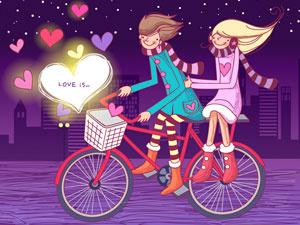 Любовь Это Сладкие Валентинки 2 Пазлы
