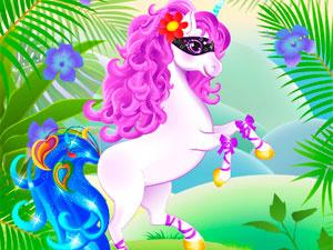 Lovely Unicorn Dress Up
