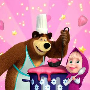 Маша И Медведь Кулинарный Переполох