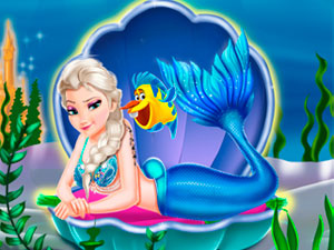Mermaid Princesses Dress Up H