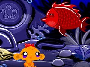 Monkey Go Happy Stage 379 Under The Sea