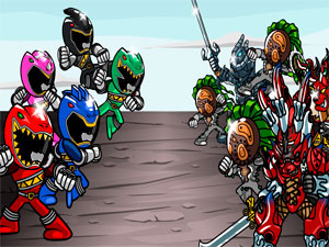 Monster Fighting Frenzy Power Rangers