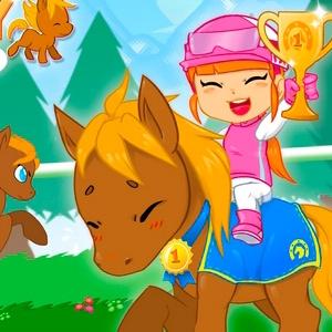 Моя Пони Моя Маленькая Гонка