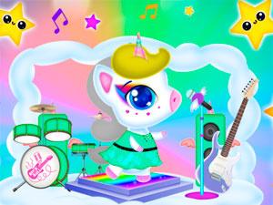 Neon Unicorn Concert