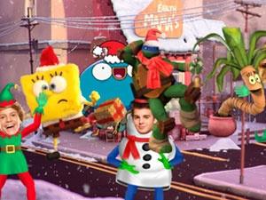 Nickelodeon Dance Machine Holiday Edition
