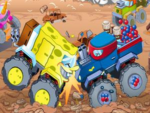 Nickelodeon Destruction Truck Derby