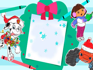 Nickelodeon: Festive Coloring Book, Part 2
