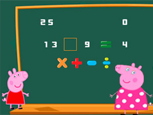 Peppa Pig Arithmetic