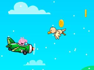 Peppa Pig Flight In Rain