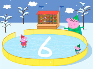 Peppa Pig Ice Skating