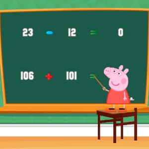 Свинка Пеппа Математика Для Детей