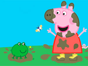 Peppa Pig Muddy Puddles